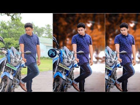 Fantasy Blurry Background Portrait Effect - Photoshop Tutorial || Anundo Graphic Studio || thumbnail