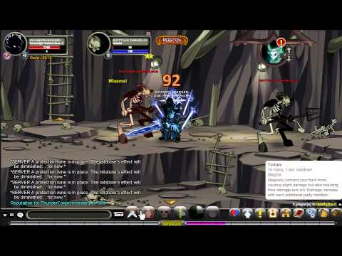 AQWorlds Thunderforge Death Pits Guide