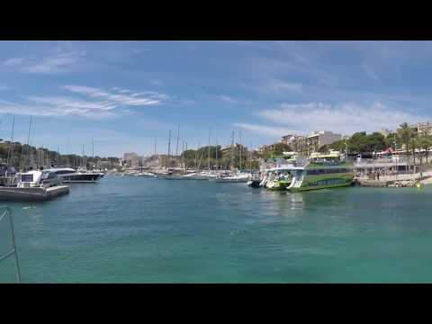 Mallorca Music - PORTO CRISTO Boat trip into Port  (mr.house)