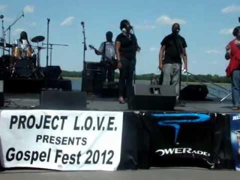 Angela Dubose Singing At the Gospelfest 2012 in Charleston SC