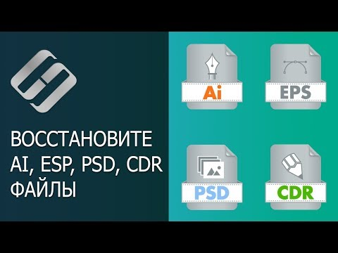 Восстановление файлов AI, SVG, EPS, PSD, PSB, CDR (Illustrator, Photoshop, CorelDraw) ⚕️📁💥