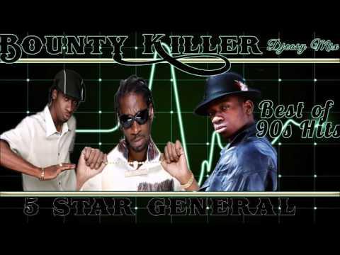 Bounty Killer (The 5 Star General) 90s Juggling  mix by djeasy