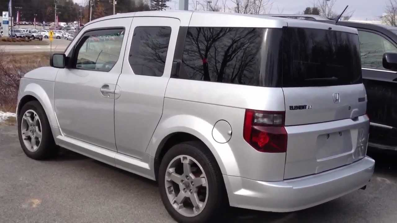 Awesome 2007 Honda Element SC Walkaround, Overview   YouTube