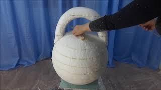 мастер- класс  ПЕНОПЛАСТ (изготовление простых скульптур) ГИРЯ
