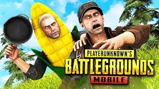Кукурузный Убийца Взял Топ-1 со Сковороды! Pubg Mobile - Battlegrounds. Сковороды