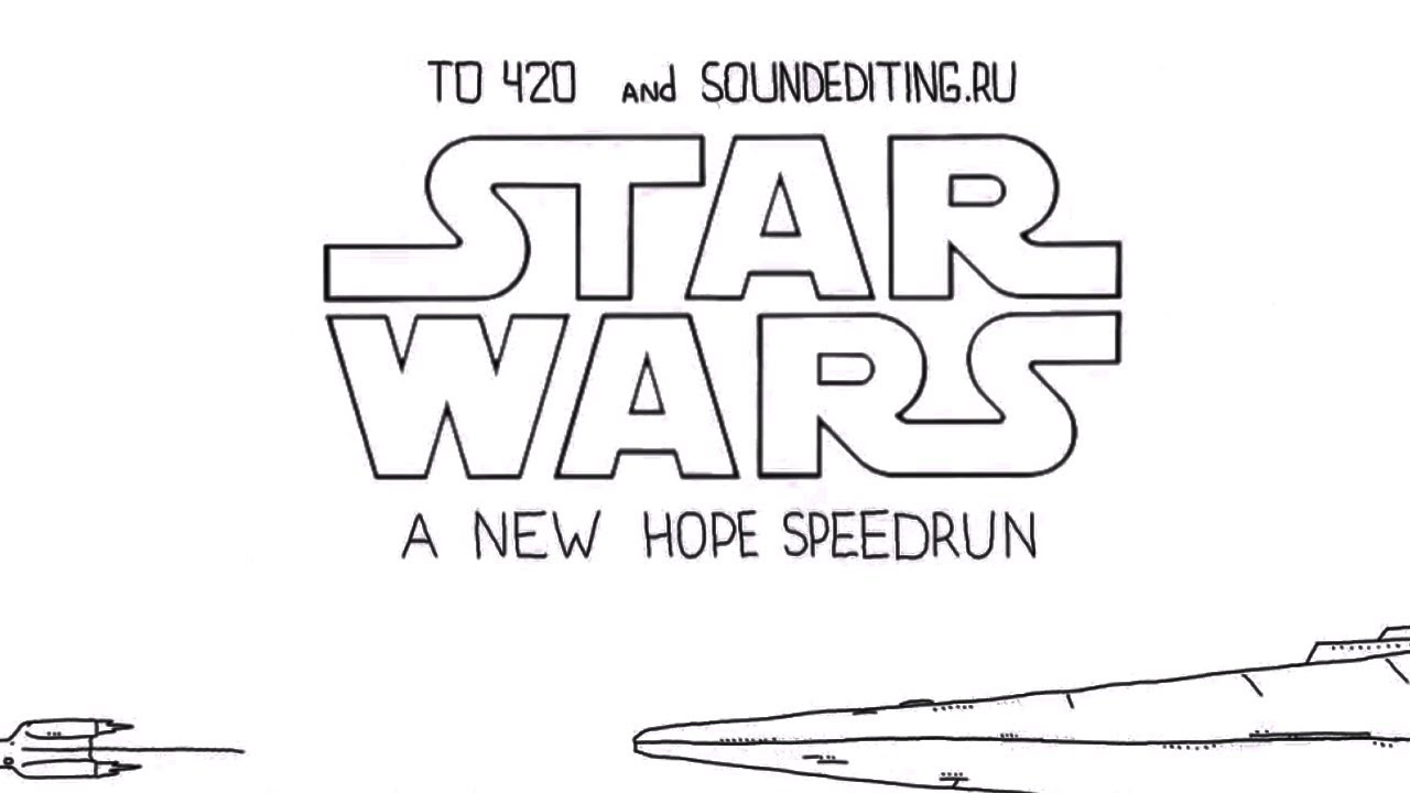 Speedrun: Star Wars Episode IV: A New Hope (Ep #3)