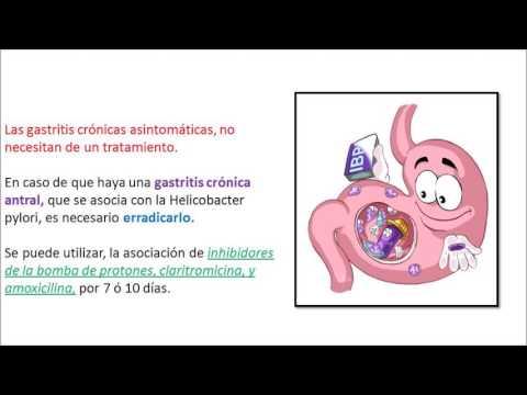 Gastritis cronica antral se cura