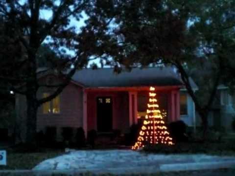 Mini Mega Tree made of GE G35 Programmable Christmas Lights - Mini Mega Tree Made Of GE G35 Programmable Christmas Lights - YouTube