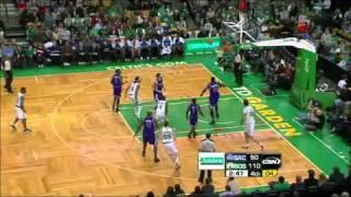 Semih Erden 12 Jan 2011 NBA Kings at Celtics