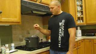Garage Strength Kitchen: Cooking Bone Broth