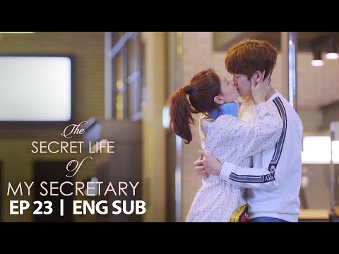 Kim Jae Kyung Kisses Koo Ja Sung [The Secret Life Of My Secretary Ep 23]