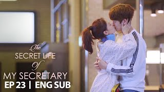 Kim Jae Kyung Kisses Koo Ja Sung [The Secret Life of My Secretary Ep 23]