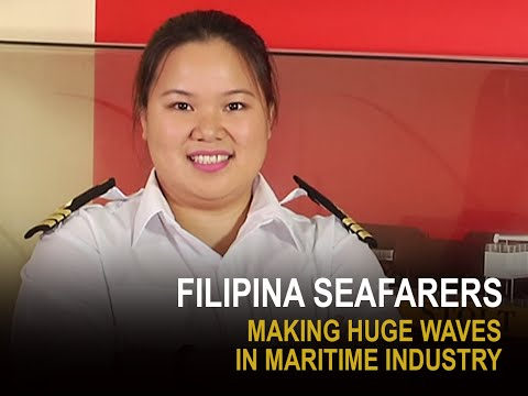Albee Benitez   Game Changer   Filipina seafarers making huge waves in maritime industry
