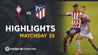 Highlights RC Celta vs Atlético de Madrid (1-1)
