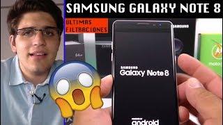 Samsung Galaxy Note 8 - ÚLTIMOS RUMORES y FILTRACIONES - Lanzamiento y Características...en español