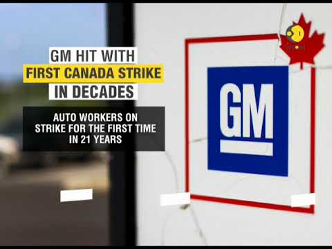 General Motors hit with first Canada strike in decades