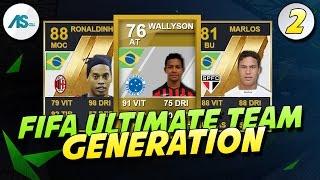 FUT GENERATIONS | RONALDINHO, MARLOS ET WALLYSON !!