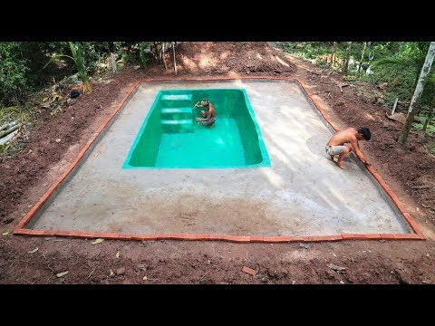 Build Swimming pool of water-part 2
