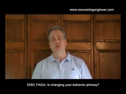 DISC FAQ's: Is Changing Your Behavior Phony