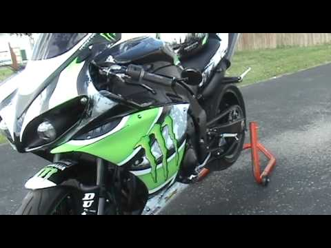 Auto Trim DESIGN Monster Racing Graphic Kit 2 - Yamaha YZF-R1