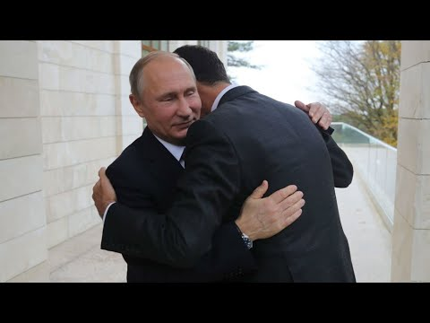 Russia: Vladimir Putin and Bashar al-Assad in Russia