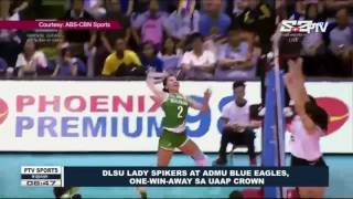 DLSU Lady Spikers at ADMU Blue Eagles, one-win-away sa UAAP crown