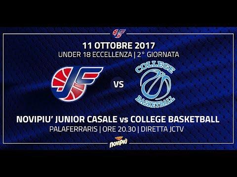 Under 18 Eccellenza | Novipiù Junior Casale - College Basketball LIVE