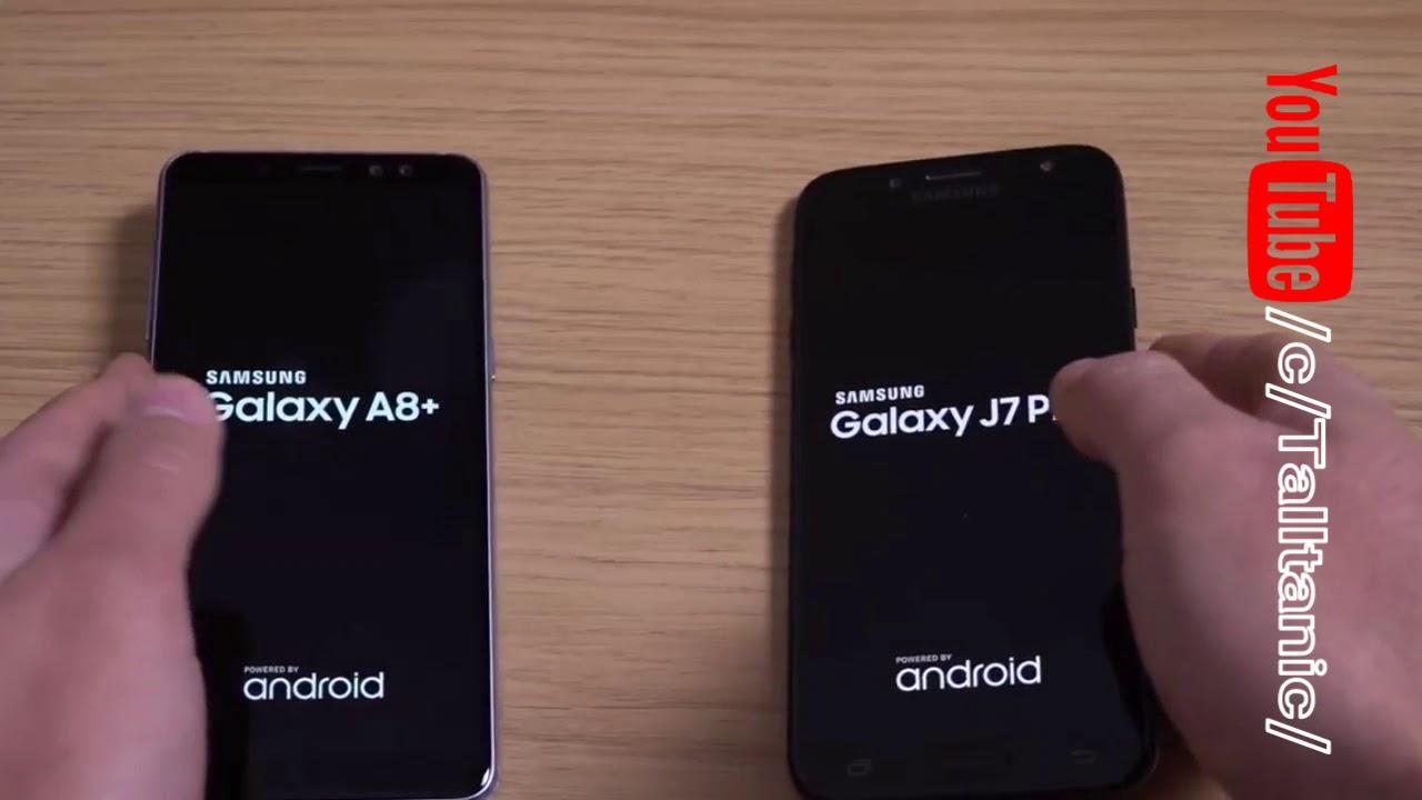 Samsung Galaxy A8 Vs Samsung Galaxy J7 Pro Speed Test
