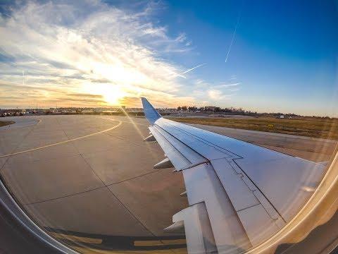 Saint Louis Lambert Airport Takeoff Timelapse