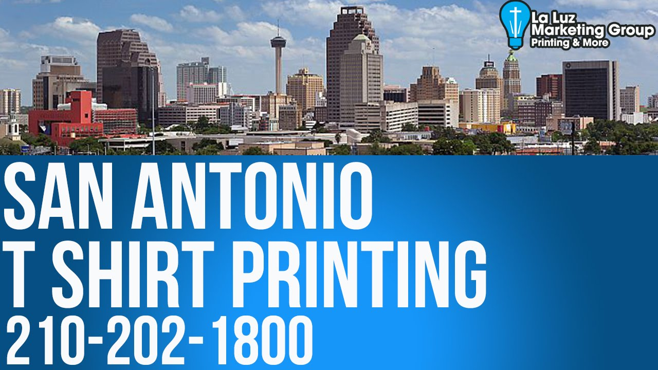 T Shirt Printing San Antonio Tx 210 202 1800 Screen Printing Youtube