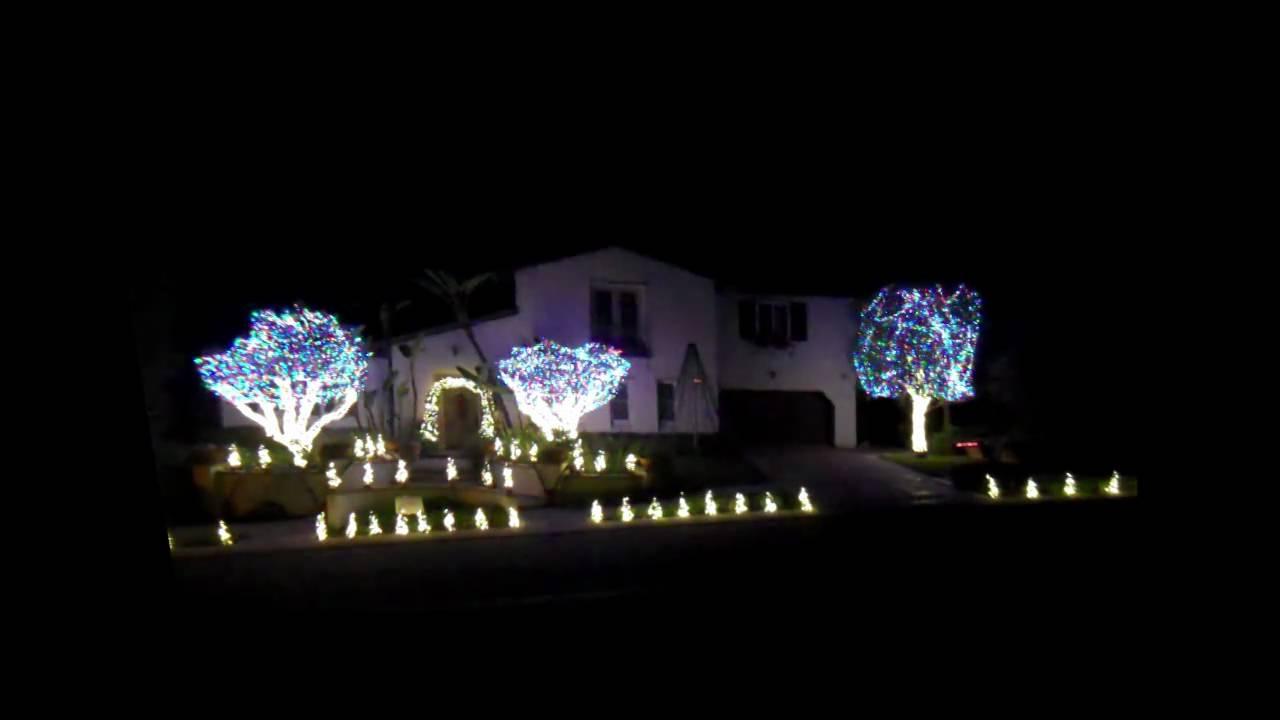 Star Wars Orange County Christmas Lights Show - YouTube