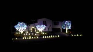 Star Wars Orange County Christmas Lights Show