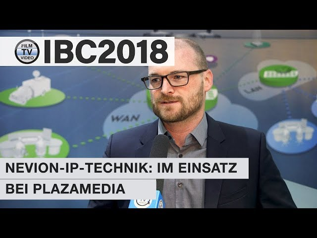 IBC2018: Nevion im Einsatz bei Plazamedia