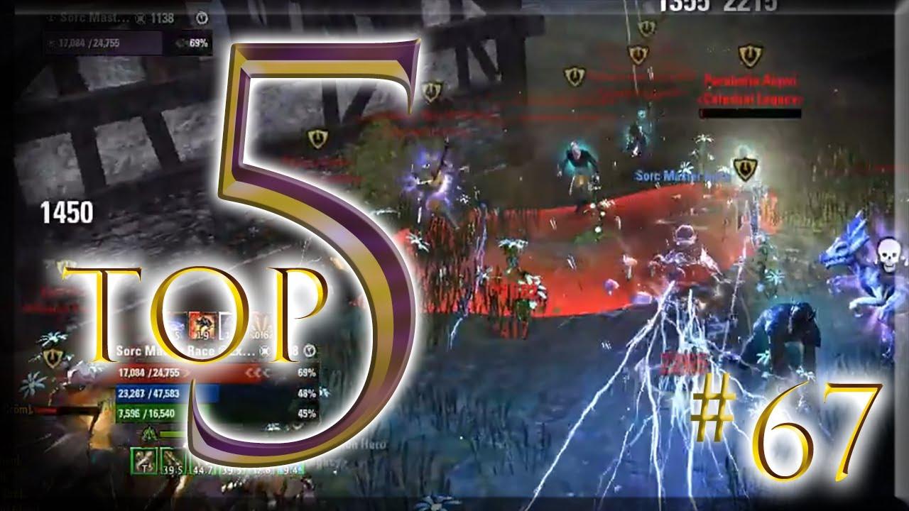 Download 1 vs 15+? Hold my Beer.. 🍺 Top 5 PvP Battles #67 - ESO - Harrowstorm