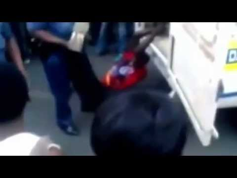 Police Dragging video leaked in South Africa, Man dies!