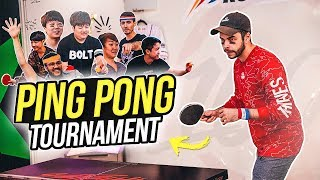 INTENSE 100T PING PONG TOURNAMENT FT. NADESHOT