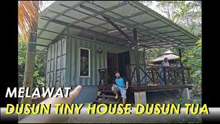 Dusun Tiny House. Inspirasi Bagi Rumah Kontena Malaysia & Indonesia. Living Big In A Tiny House.