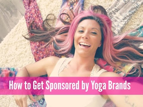 How to Get Sponsored by Yoga Brands