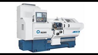 ROMI C420 Zyklengesteuerte Drehmaschine