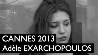 CANNES 2013 : Adèle Exarchopoulos / La Vie d'Adèle - Chapitre 1 et 2