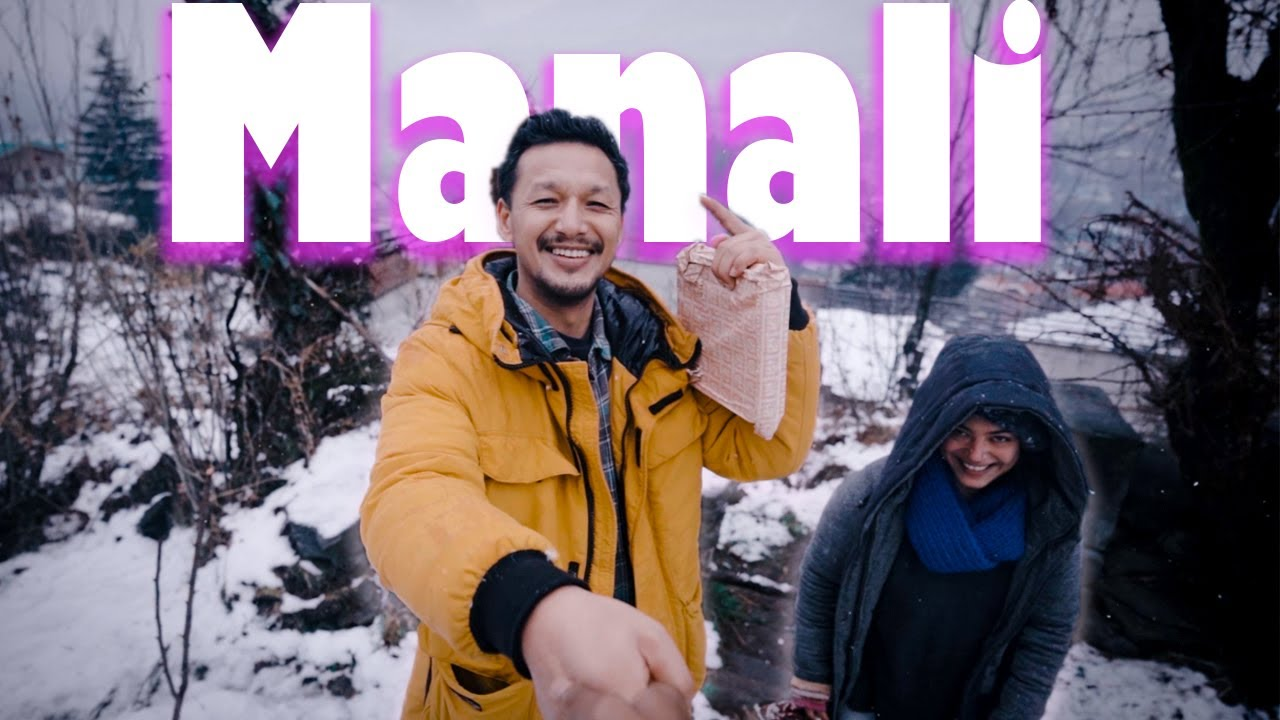 Snowfall in Manali : Cinematic video | Traveling mondays