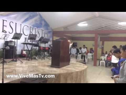 Pastor David Rodriguez En Iglesia el Shaddai