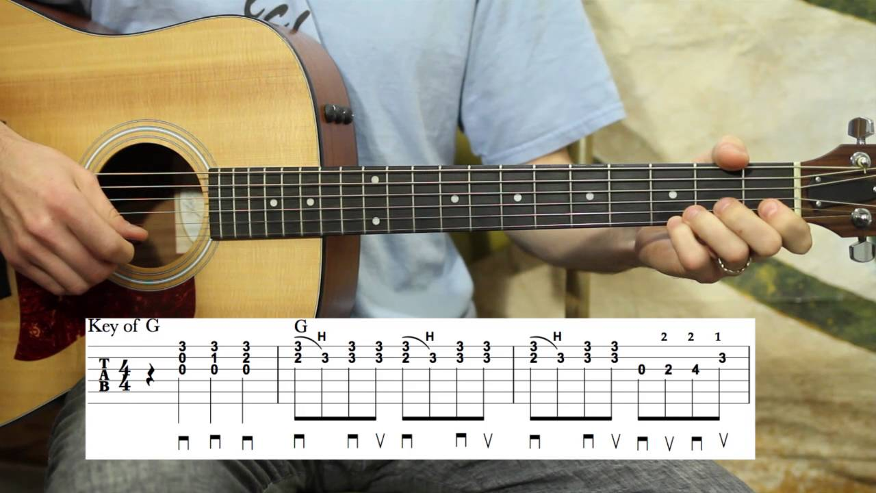 Rocky top tennessee guitar lesson whole song youtube hexwebz Gallery