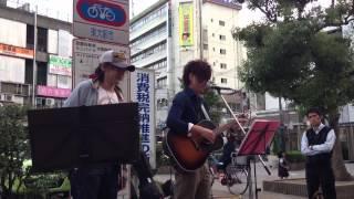 10月12日小阪駅前ストリート.