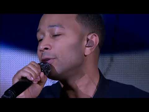 John Legend Sings the National Anthem for NBA Finals 2016 (Voiceover by Kevin Lance)