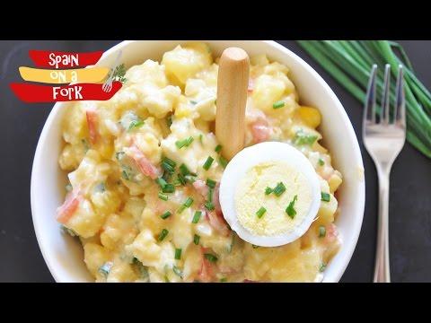 Ensaladilla Rusa - Spanish Potato Salad Recipe