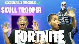 FORTNITE - WE BUY SKULL TROOPER | Nintendo XBox PS4 PC Mobile Crossplay With Subs