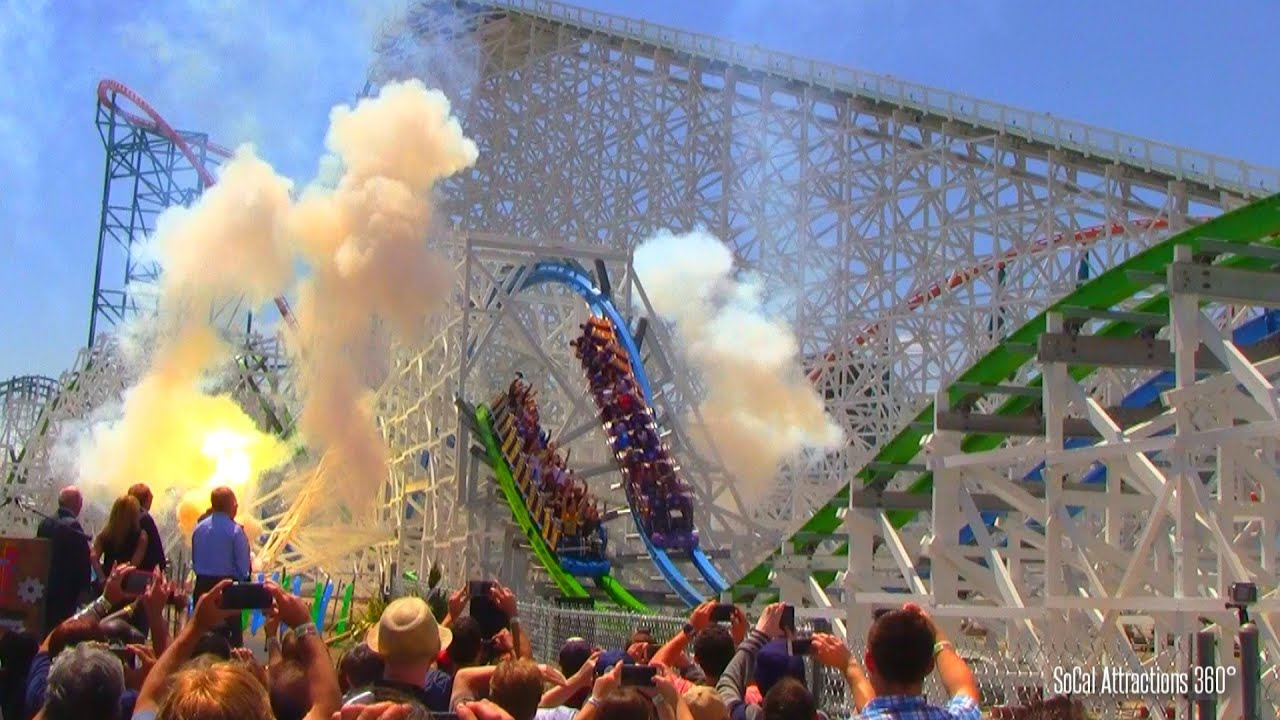 hd twisted colossus grand opening fireworks ceremony