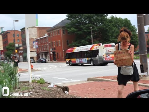 Surviving A Walk Through Our Nations Most Dangerous City Baltimore Maryland.