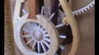 Solaris Wooden Clock
